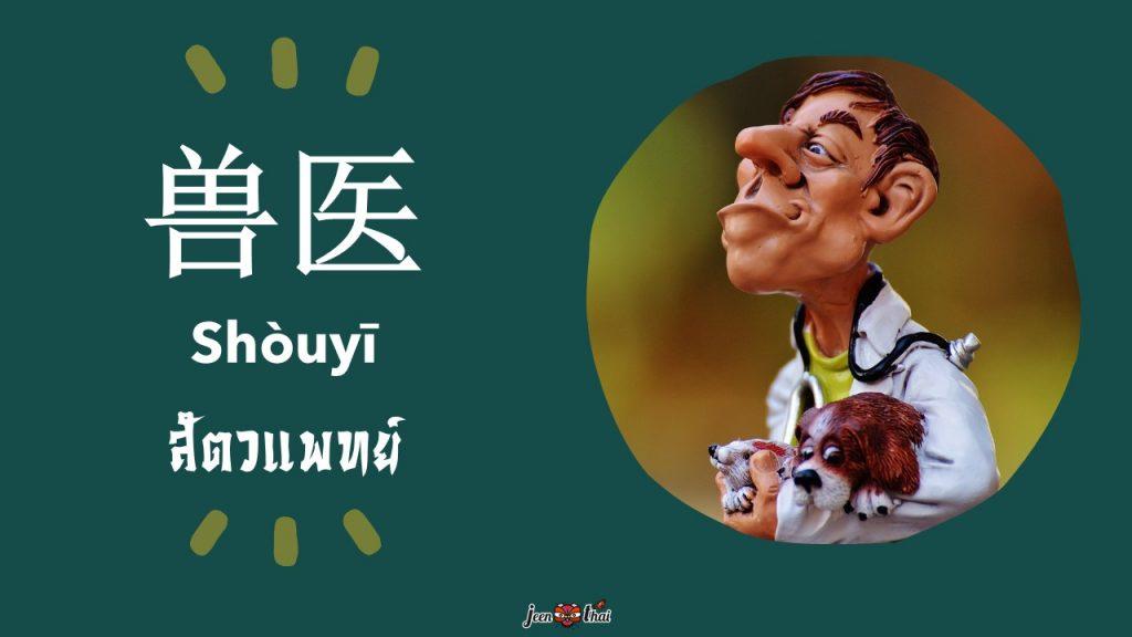 สัตวแพทย์ภาษาจีน