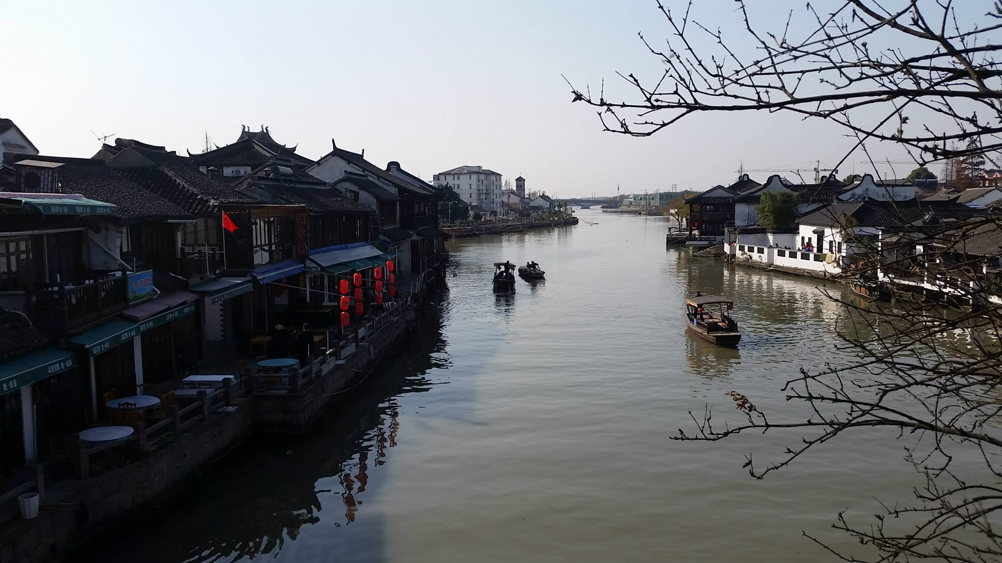 ตลาดน้ำจูเจียเจี่ยว 朱家角古镇 Zhujiajiao Ancient Town in Shanghai
